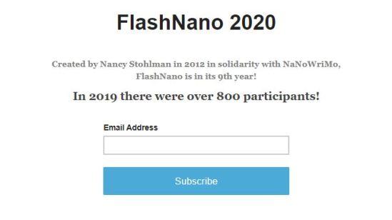 sign up sheet flashnano